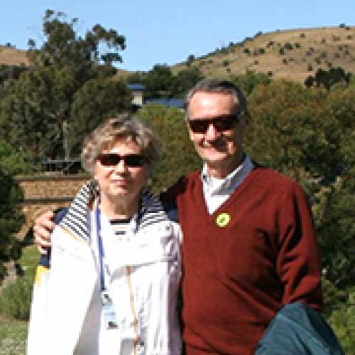 William '56, MBA '58 and Carol Pierskalla