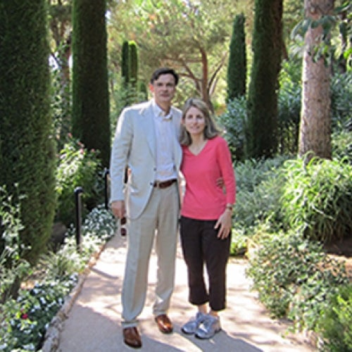 Richard Ronzetti '82, MBA '86 and his wife Elise