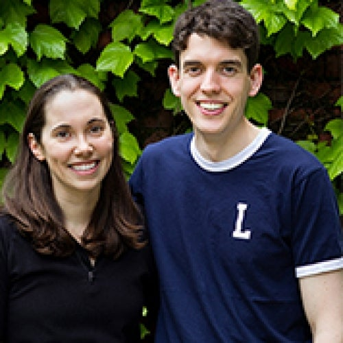 Daria Van Tyne PhD '13 and Jonathan Bruno JD '13, PhD '17