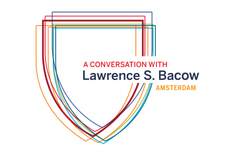 A Conversation with Lawrence S. Bacow: Amsterdam