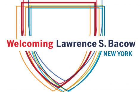 Welcoming Lawrence S. Bacow NYC