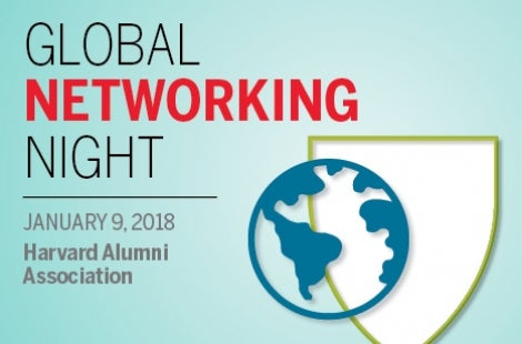 Harvard Alumni Association Global Networking Night January 2018
