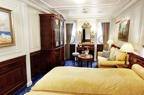 Sea Cloud II Deluxe Cabins