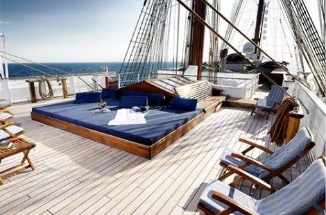 Sea Cloud Deck Lounge