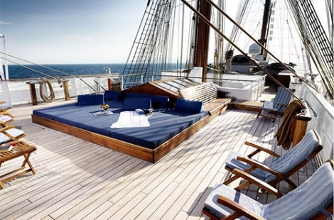 Sea Cloud Deck Lounge