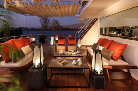 Nile Adventurer Sun Deck