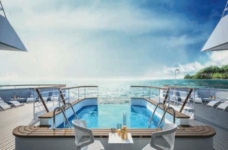 Le Champlain Sun deck