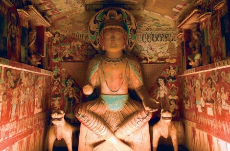 Dunhuang Mogao Cave Statue