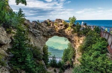 Mackinac Arch