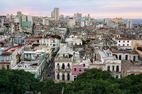 Overlook of Havana