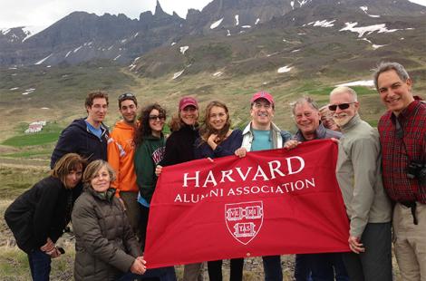 Harvard in Iceland