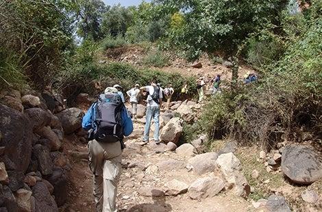 Morocco hike