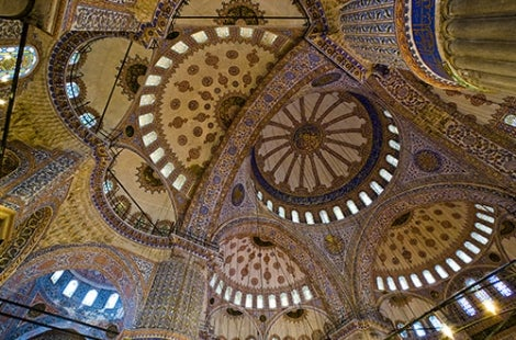 Painted Dome in Turkey
