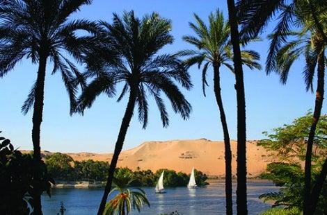 Aswan Feluccas
